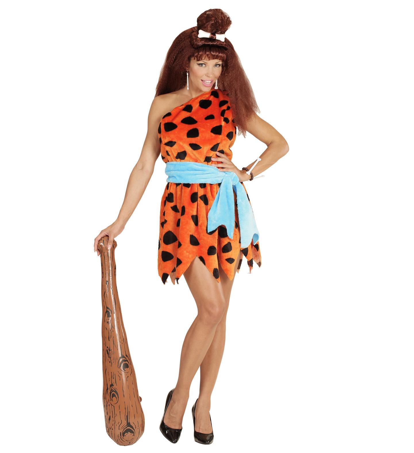 ebfc4b627eb7 Karnevalový kostým pravěké ženy