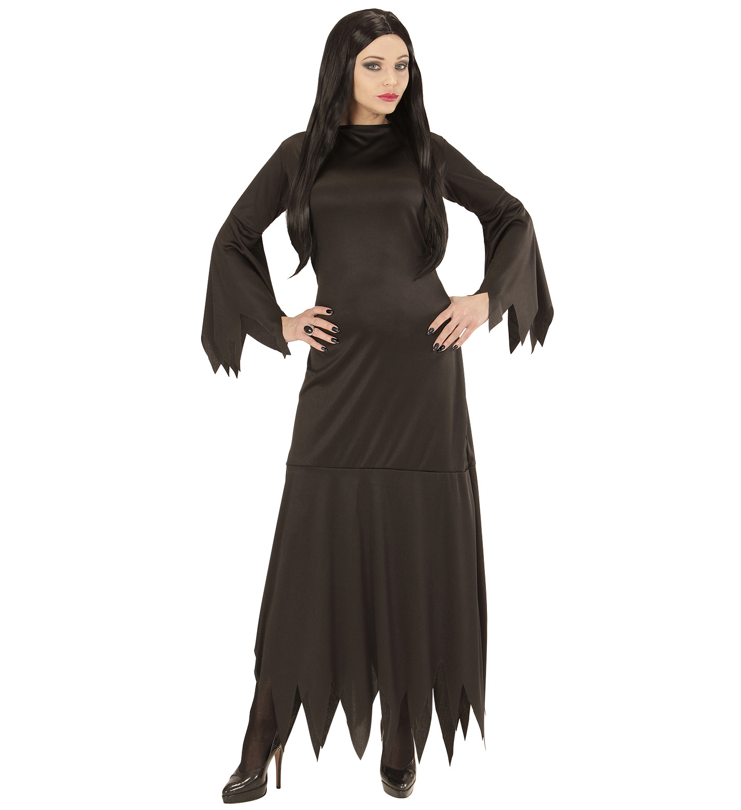 51fdafdadcba Dámský černý kostým čarodějnice