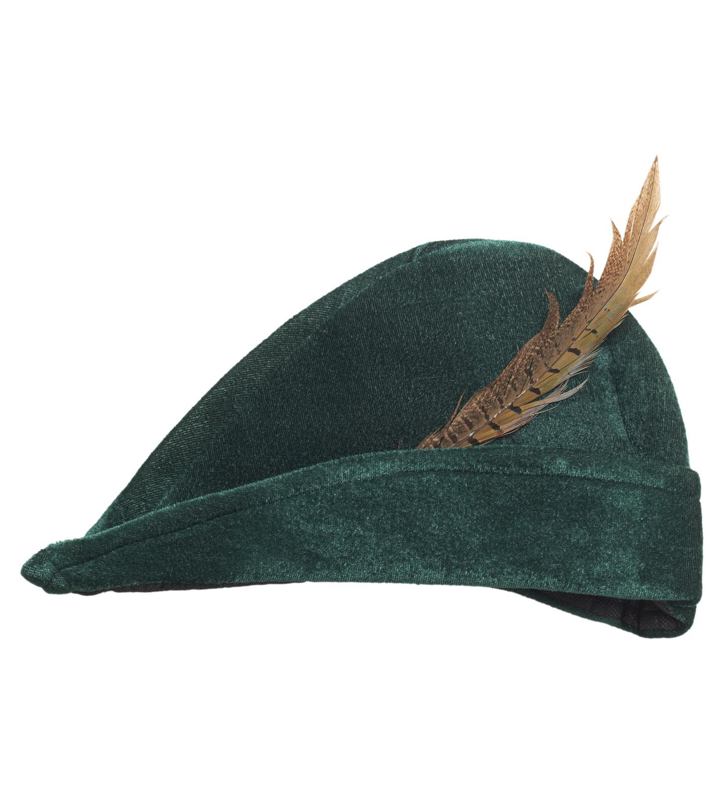 Myslivecký zelený klobouk s pérem 41d6f59d1e