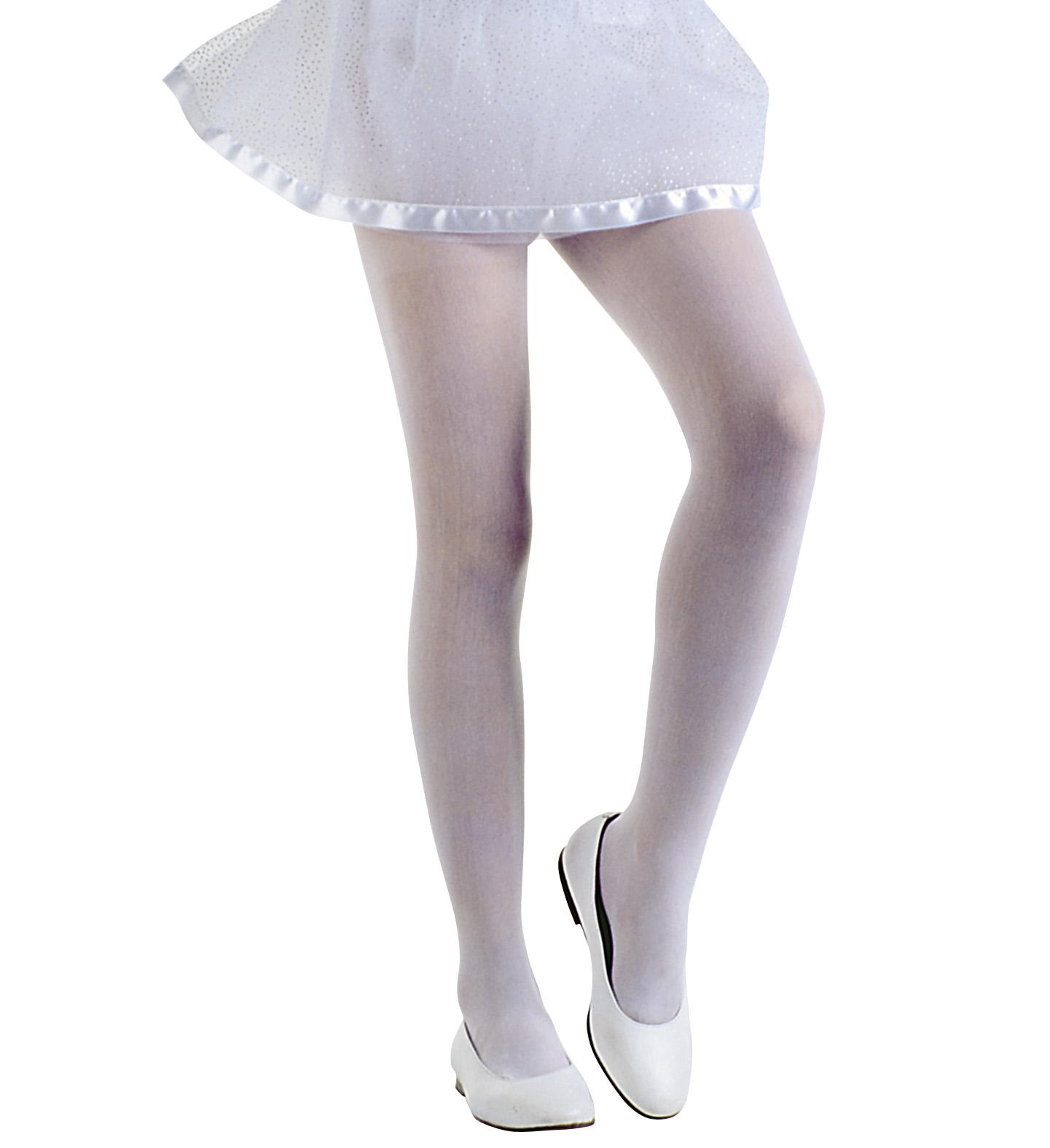 Bílé punčocháče d02582bfc4